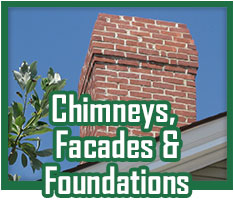 Chimney, Facades and Foundations Masonry