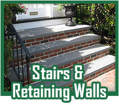 Stairs and Retaining Walls Portfolio